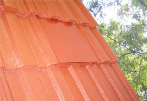 Concrete + Terracotta Roof Ventilation Tiles